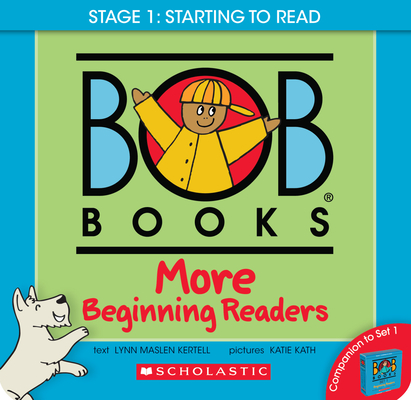 Bob Books - More Beginning Readers Box Set | Phonics, Ages 4 and up, Kindergarten (Stage 1: Starting to Read) Cover Image