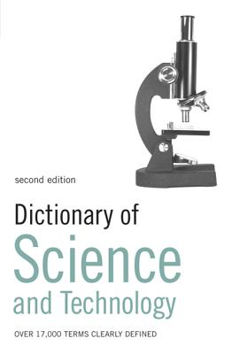 Dictionary of Science and Technology Cover Image
