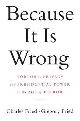 Because It Is Wrong Cover