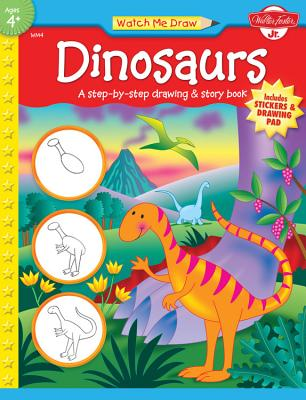 Dinosaurs [With Drawing PadWith Stickers] Cover