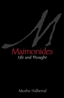 Maimonides: Life and Thought Cover Image