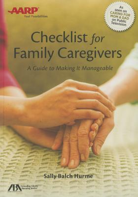 ABA/AARP Checklist for Family Caregivers: A Guide to Making It Manageable Cover Image