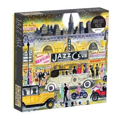 Michael Storrings Jazz Age 1000 Piece Puzzle Cover Image