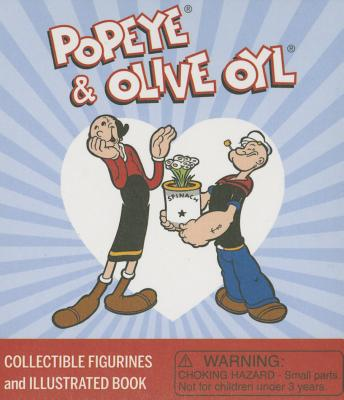 Popeye and Olive Oyl: Collectible Figurines and Illustrated Book (RP Minis) Cover Image
