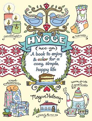 Cover for Hygge Adult Coloring Book