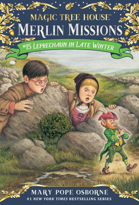 Leprechaun in Late Winter (Magic Tree House (R) Merlin Mission #15) Cover Image