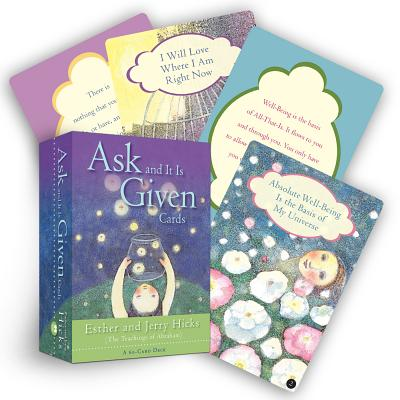 Ask And It Is Given Cards: A 60-Card Deck plus Dear Friends card Cover Image