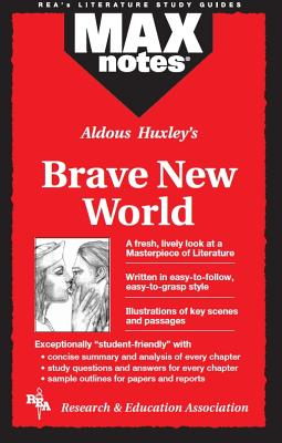 Brave New World (Maxnotes Literature Guides) Cover Image