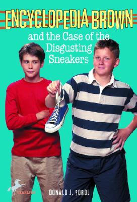 Encyclopedia Brown and the Case of the Disgusting Sneakers Cover