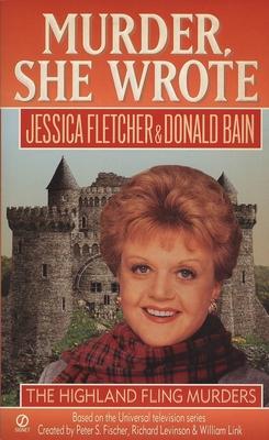 Murder, She Wrote: Highland Fling Murders (Murder She Wrote #7) Cover Image