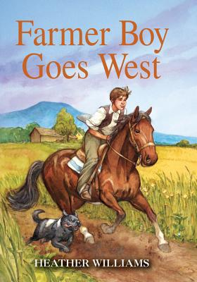 Cover for Farmer Boy Goes West (Little House Sequel)