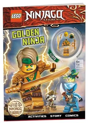 LEGO(R) NINJAGO(R): Golden Ninja (Activity Book with Minifigure) Cover Image