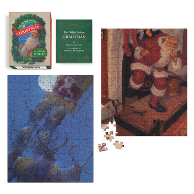 The Night Before Christmas Mini Puzzles (RP Minis) Cover Image