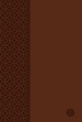 The Passion Translation New Testament Large Print Brown: With Psalms, Proverbs and Song of Songs Cover Image