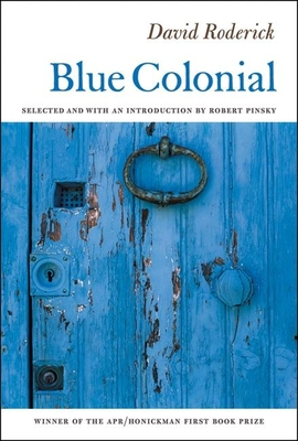 Cover for Blue Colonial (Apr Honickman 1st Book Prize)