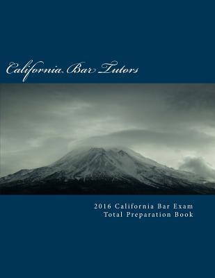 2016 California Bar Exam Total Preparation Book Cover Image