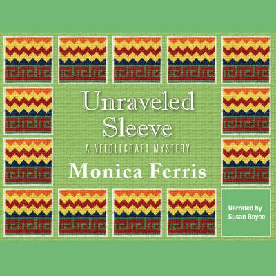 Unraveled Sleeve Lib/E (Needlecraft Mysteries (Audio) #4) Cover Image