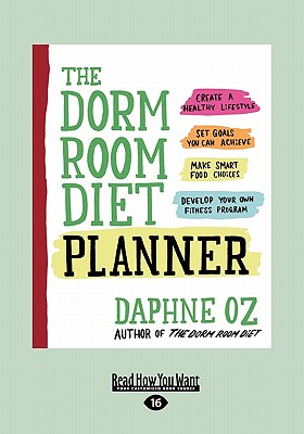 The Dorm Room Diet Planner (Large Print 16pt) Cover Image