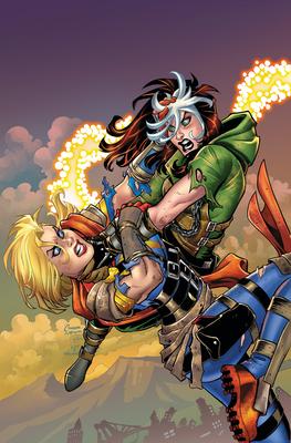 Captain Marvel Vs. Rogue cover