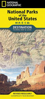 National Parks of the United States (National Geographic Destination Map) Cover Image