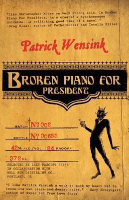 Broken Piano for President Cover