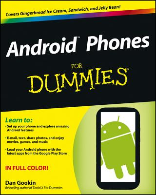Android Phones for Dummies Cover