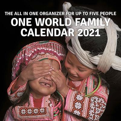 One World Family Calendar 2021 Cover Image
