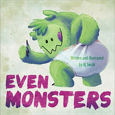 Even Monsters... Cover
