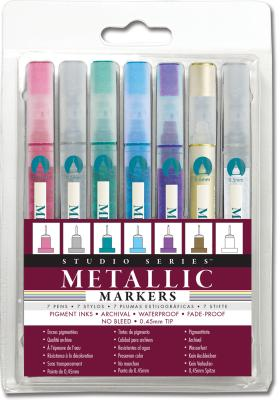 Studio Series Metallic Markers Cover Image