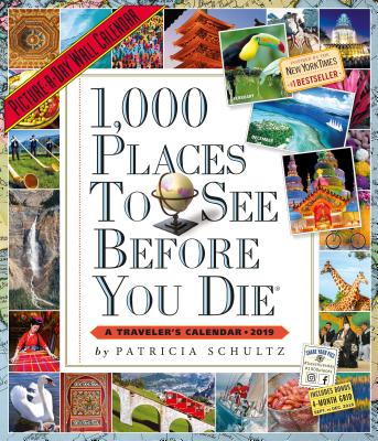 1,000 Places to See Before You Die Picture-A-Day Wall Calendar 2019 Cover Image