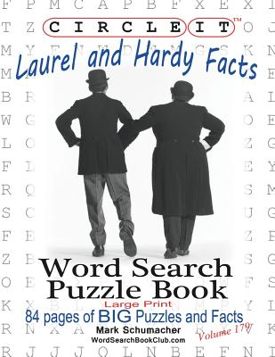 Circle It, Laurel and Hardy Facts, Word Search, Puzzle Book Cover Image