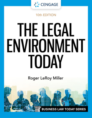 The Legal Environment Today cover