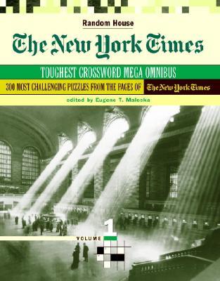 The New York Times Toughest Crossword Megaomnibus, Volume 1 Cover