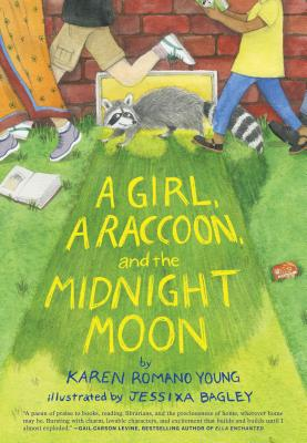 A Girl, a Raccoon, and the Midnight Moon: (Juvenile Fiction, Mystery, Young Reader Detective Story, Light Fantasy for Kids) Cover Image