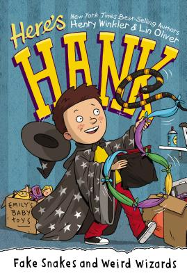 Fake Snakes and Weird Wizards #4 (Here's Hank #4) Cover Image
