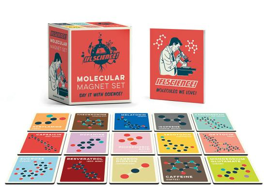 IFLScience Molecular Magnet Set: Say It With Science! (RP Minis) Cover Image