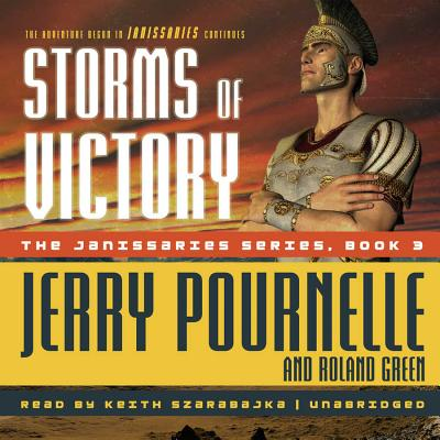 Storms of Victory Lib/E (Janissaries #3) Cover Image