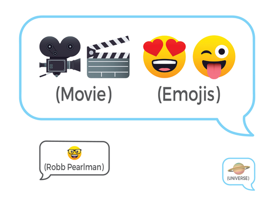 Movie Emojis: 100 Cinematic Q&As Cover Image
