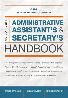 Administrative Assistant's and Secretary's Handbook Cover Image
