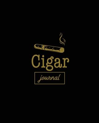 Cigar Journal: Cigars Tasting & Smoking, Track, Write & Log Tastings Review, Size, Name, Price, Flavor, Notes, Dossier Details, Afici Cover Image