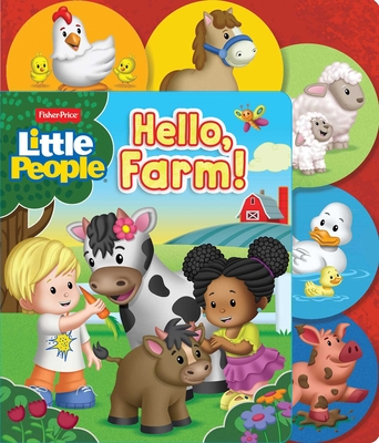 Fisher Price Little People: Hello, Farm! (Sliding Tab) Cover Image