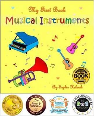My First Book Musical Instruments Cover