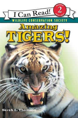 Amazing Tigers! (I Can Read Level 2) Cover Image