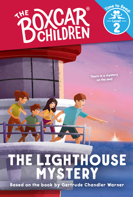 The Lighthouse Mystery (the Boxcar Children: Time to Read, Level 2) cover