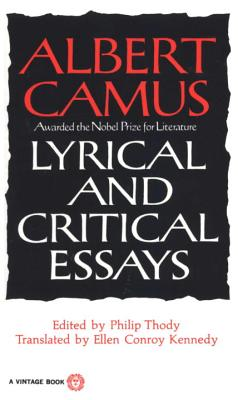Lyrical and Critical Essays Cover Image