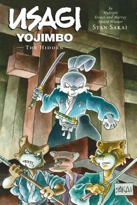 Usagi Yojimbo Volume 33: The Hidden Cover Image