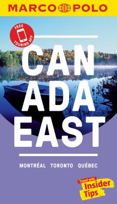 Canada East Marco Polo Pocket Travel Guide - With Pull Out Map Cover Image