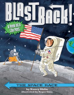 Cover for The Space Race (Blast Back!)