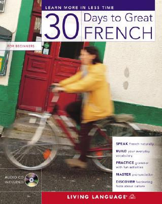 30 Days to Great French [With CD] Cover