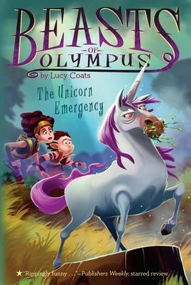 The Unicorn Emergency #8 (Beasts of Olympus #8) Cover Image